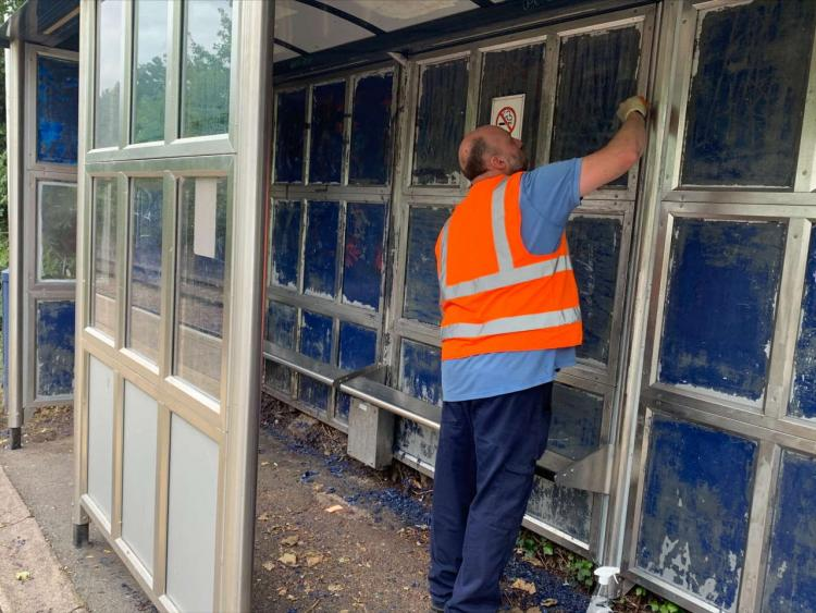 Work to clean up South Wigston railway station