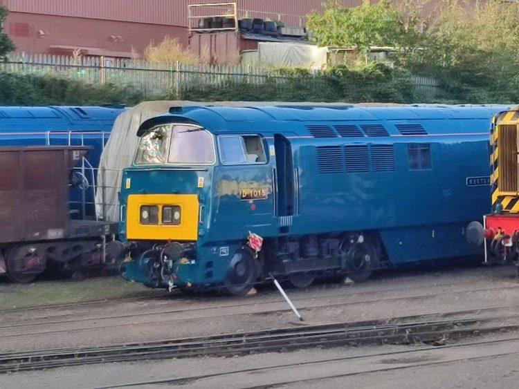 D1015 at Kidderminster Diesel Depot