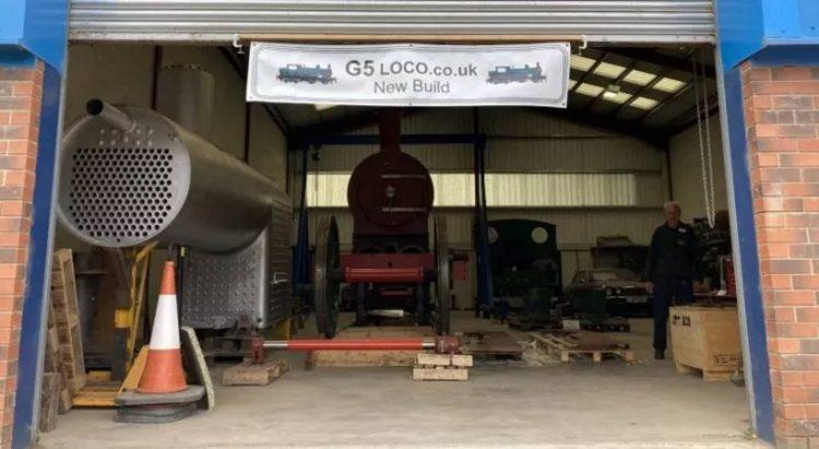 Class G5 Locomotive Company open day