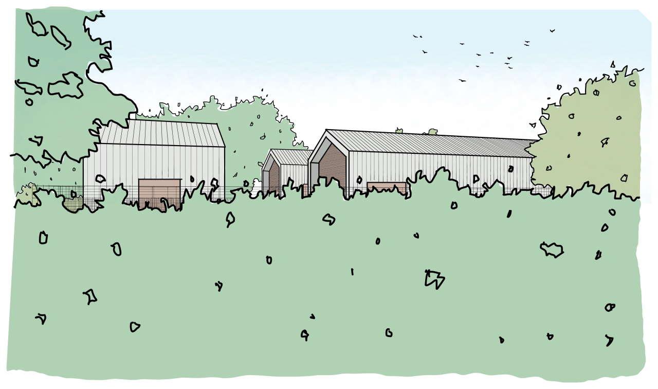 Chesham Road headhouse design illustration