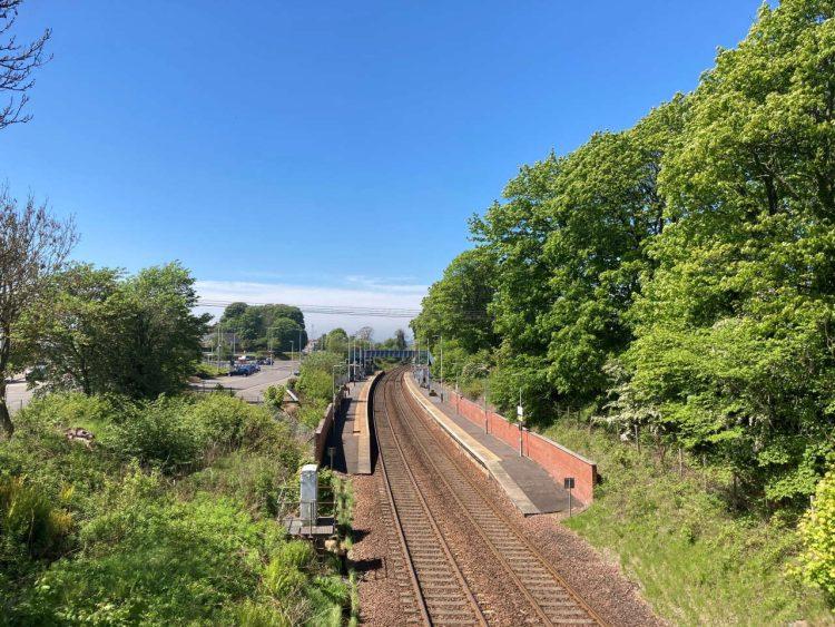 Dalgety Bay station
