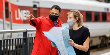 LNER giving out footway maps