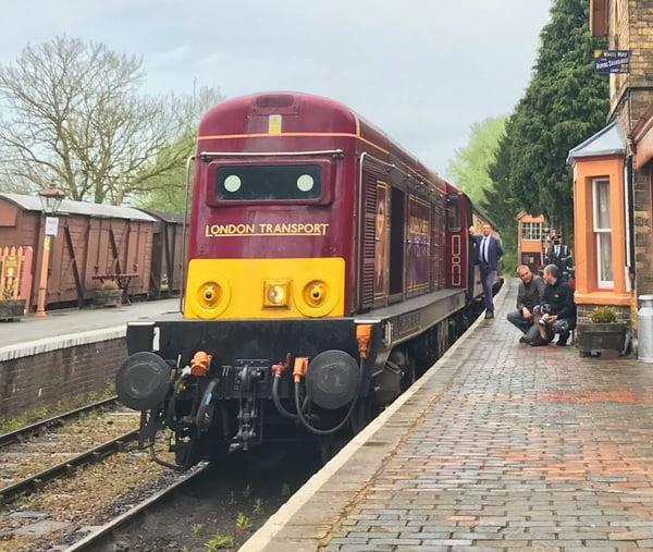 London Transport loco
