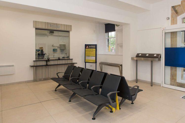 Malton Station new waiting room