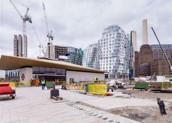 New Tube stations at Nine Elms and Battersea Power Station