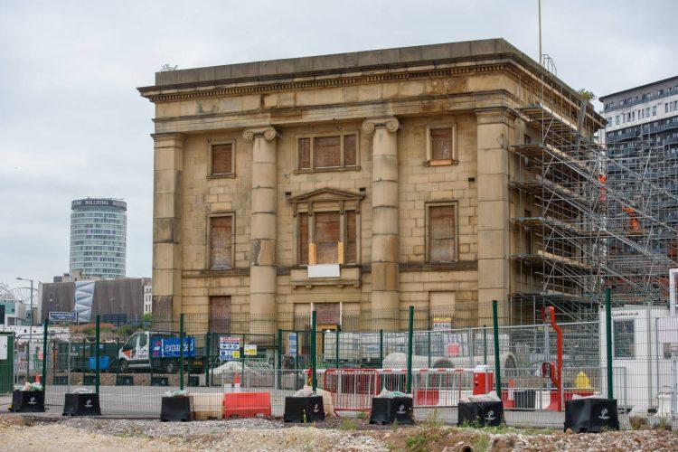 Old Curzon Street Station refurb begins 2 Sept 2021