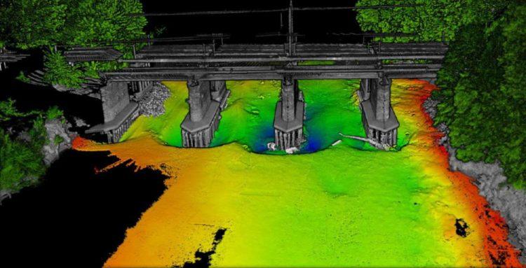 River Eden LIDAR scan