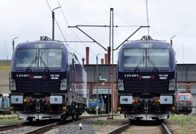 Siemens news locos