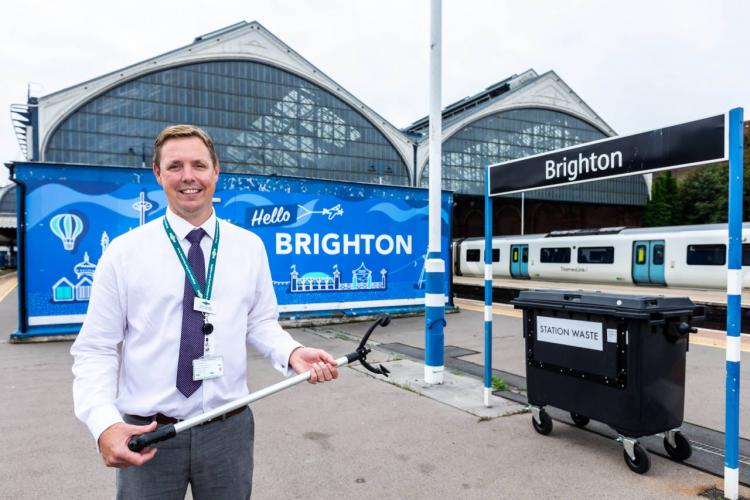 New recycling machine installed at Brighton railway station