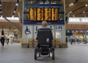 Southeastern Patience Campaign, wheelchair