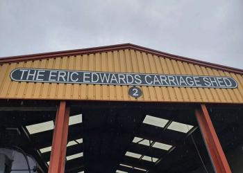 The Eric Edwards carriage shed