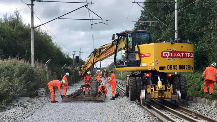 Track renewals in Macclesfield over August bank holiday