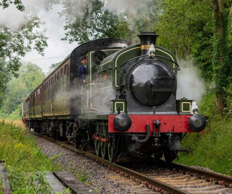 Austin 1 on the Somerset and Dorset Railway