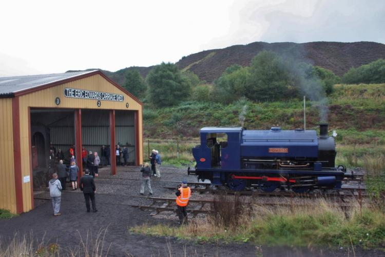 New carriage shed opened at the Pontypool and Blaenavon Railway