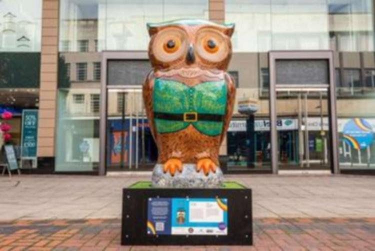 Nottingham Ale Trail Owl