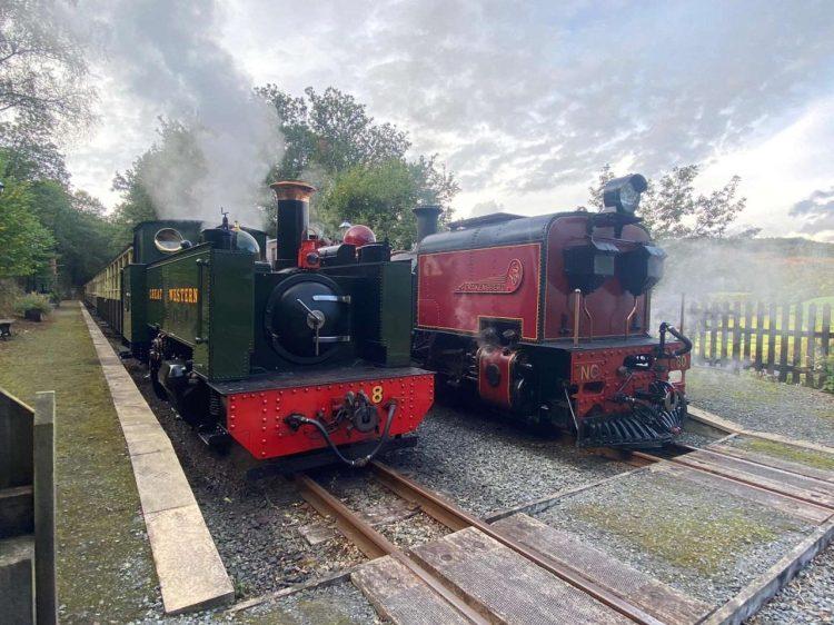 Garratt 60 on test at the Vale of Rheidol Railway