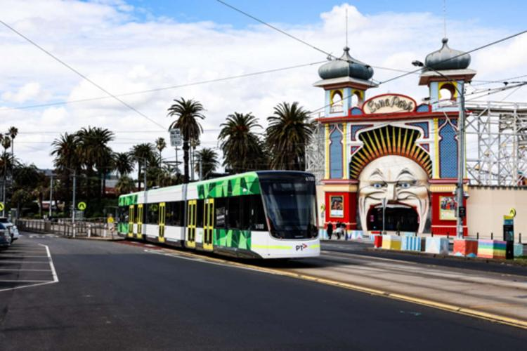 Alstom delivers 100th Flexity light rail vehicle to world's largest tram network in Melbourne