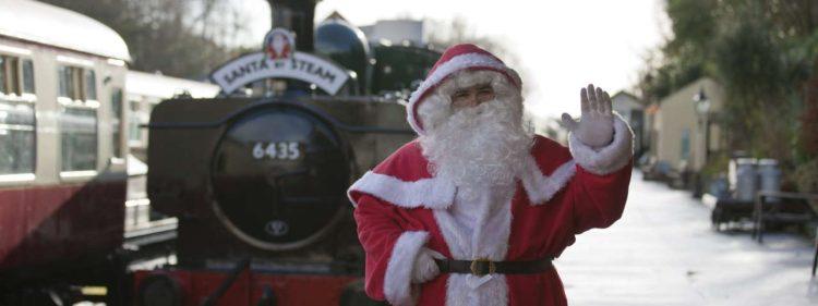 Bodmin & Wenford Railway Santa Trains