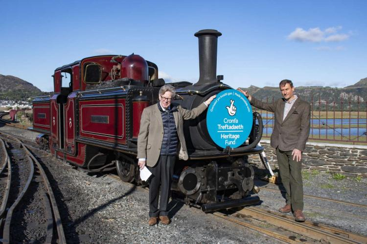 Heritage Fund grant for the Ffestiniog and Welsh Highland Railway