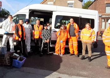 the team at Darnall Station