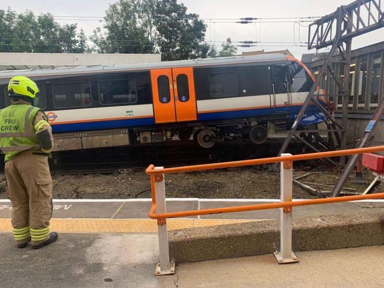 Crash at Enfield Town