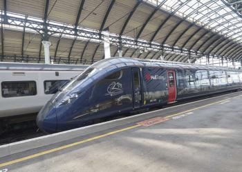 Hull Trains in the station