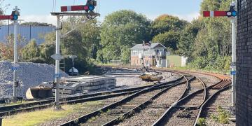 Major railway improvements in Bridlington – Network Rail upgrades signalling and track this month