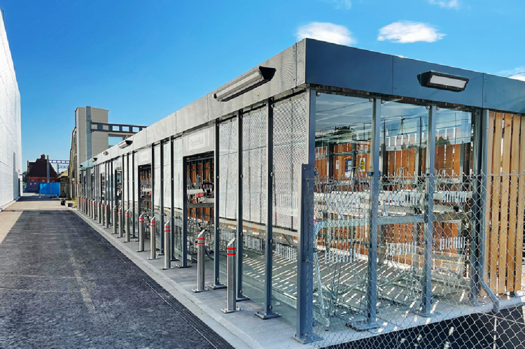 New Cycle Hub at Newbury Station