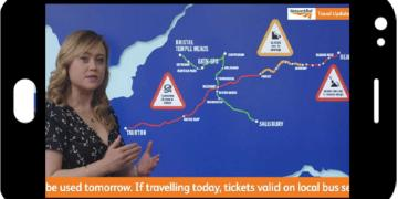 PIDD weather-style travel update example