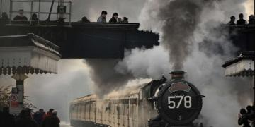 Steam is also popular on the mainline