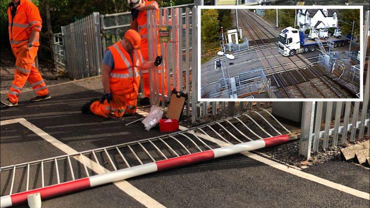 Wedgwood station level crossing strike composite