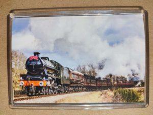 45596 Bahamas steam locomotive magnet